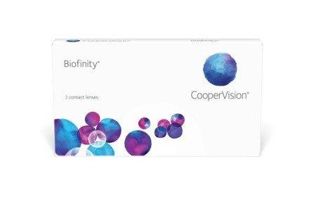 Zestaw 2x Soczewki Biofinity 3 szt. + 2x Płyn do soczewek HY-CARE 60ml